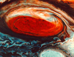 Great Red Spot False Colour