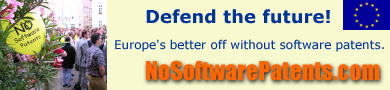 STOP THE SOFTWARE PATENTS MAFIA